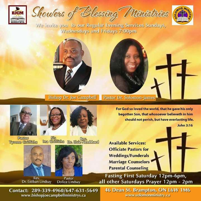 We invite you to our regular Sunday evening services